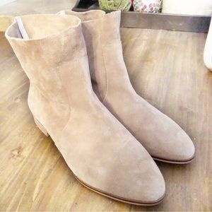 Original collection Dr scholes suede booties
